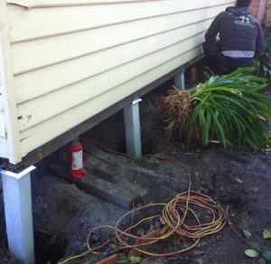 Underpinning Moonee Ponds
